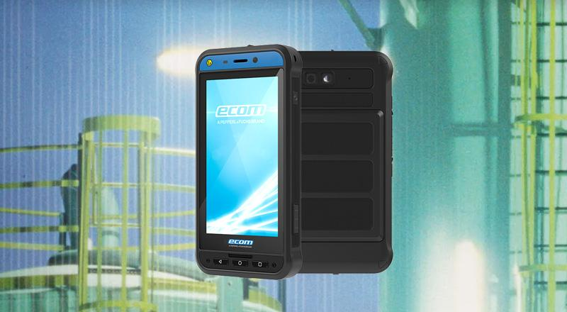 Intrinsically safe and explosion-proof smartphones from ecom instruments